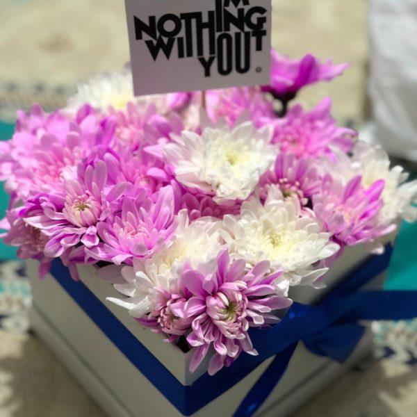 Premium Flowers Gift Box - SendFlowers.PK