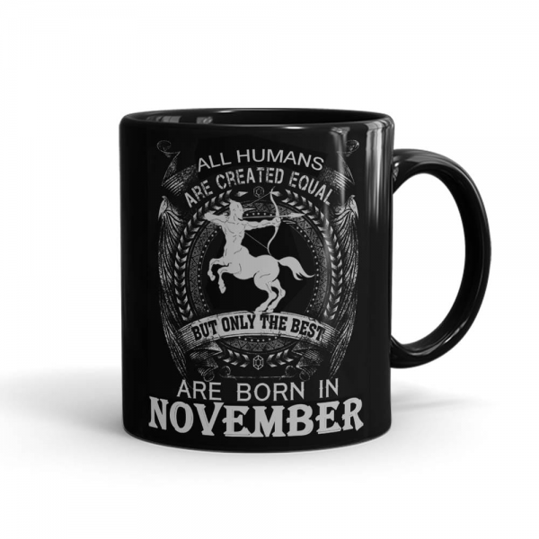 Sagittarius November Mug Black - SendFlowers.pk