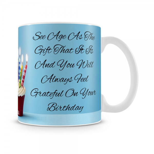 See Age As Gift Mug White - SendFlowers.pk