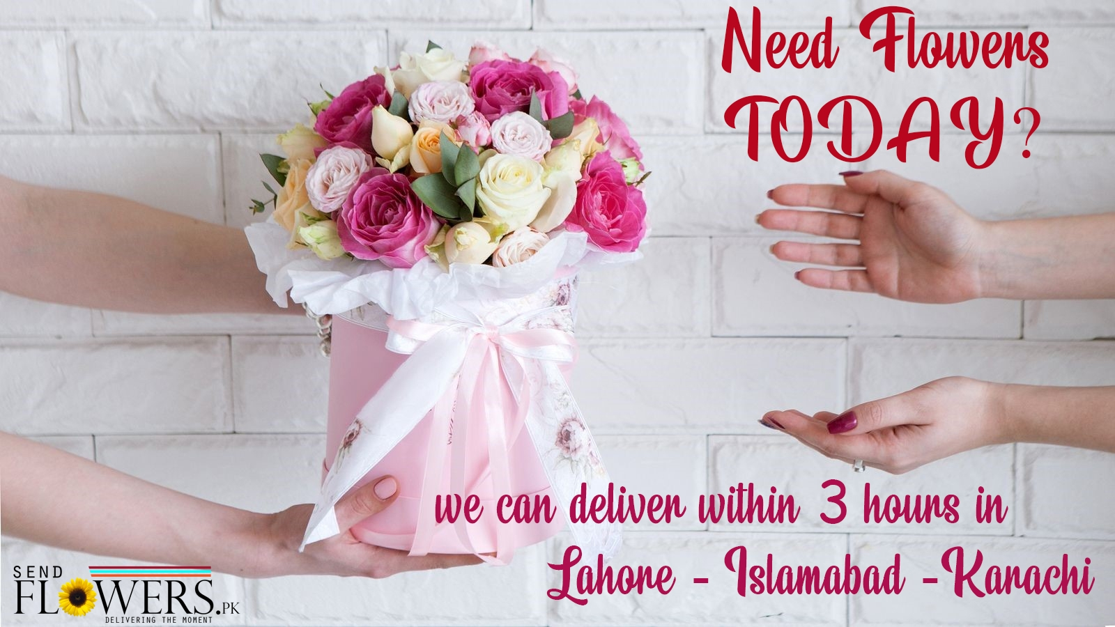 Send Flowers To Pakistan From Usa Same Day Flower Delivery