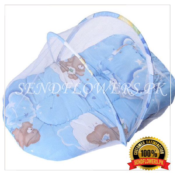 2 Pcs Net Baby Soft Gadda - SendFlowers.pk