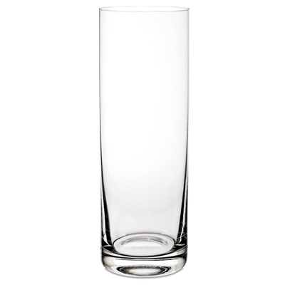 Big Cylinder Glass Vase - SendFlowers.pk