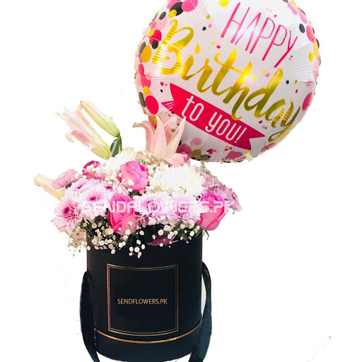 Birthday Hatbox - SendFlowers.pk