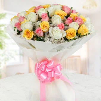 Colorful Roses - SendFlowers.pk