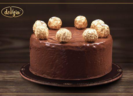 Ferrerro Rocher Cake 2.5LBS - SendFlowers.pk