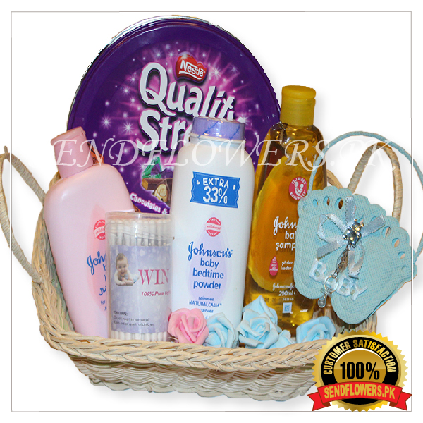 Johnson Baby Product Basket - SendFlowers.pk