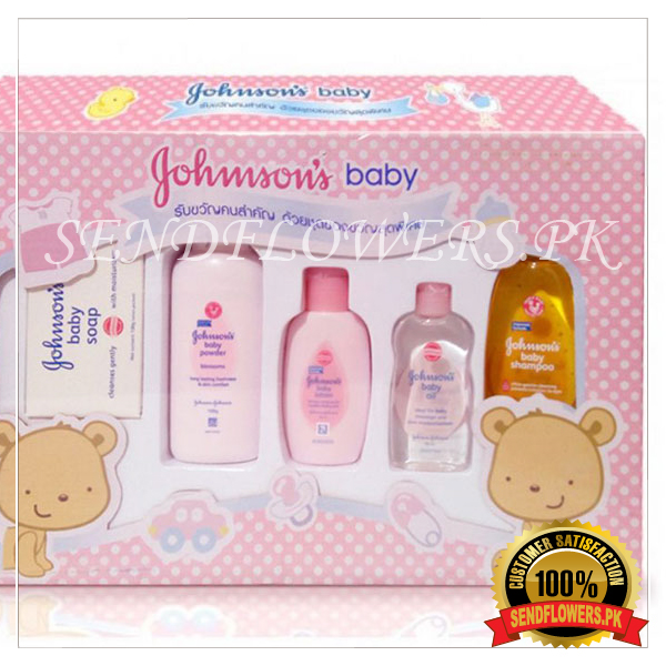 Johnson's Baby Complete Gift Set - SendFlowers.pk