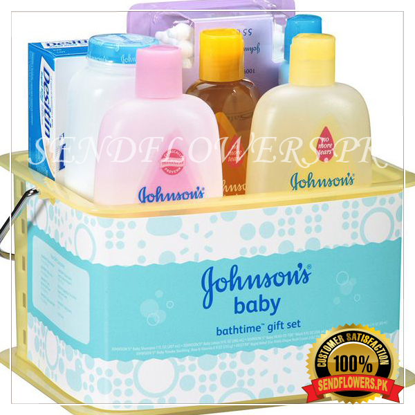 Johnson's Baby Full Gift Set - SendFlowers.pk