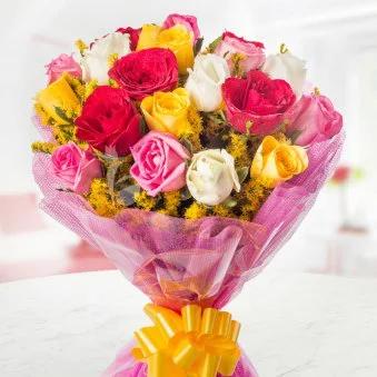 Mix Rose Garden - SendFlowers.pk