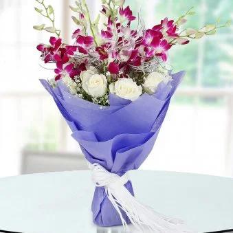 Orchid N Roses - SendFlowers.pk