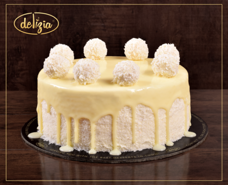 Raffaello Cake 2.5LBS - SendFlowers.pk
