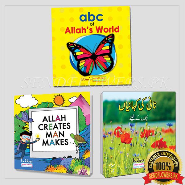 3 Story Books for kids - SendFlowers.pk