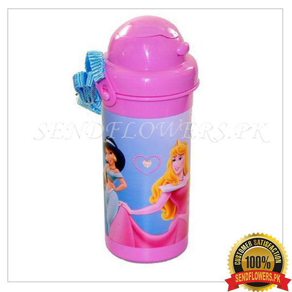 Barbie water bottle - SendFlowers.pk