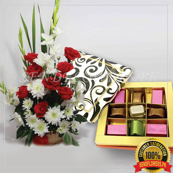 Belgian Small Bouquet Chocolates - SendFlowers.pk