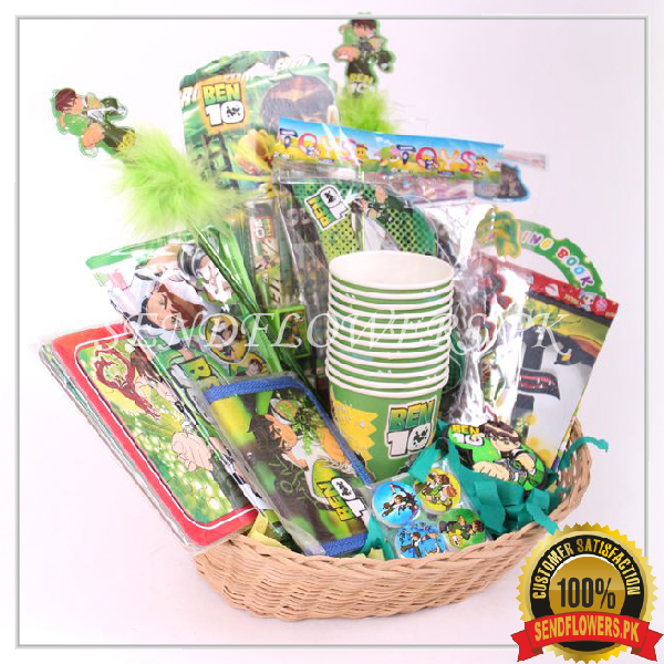 Ben 10 Birthday Basket - SendFlowers.pk