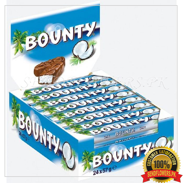 Bounty Chocolate Bars - SendFlowers.pk