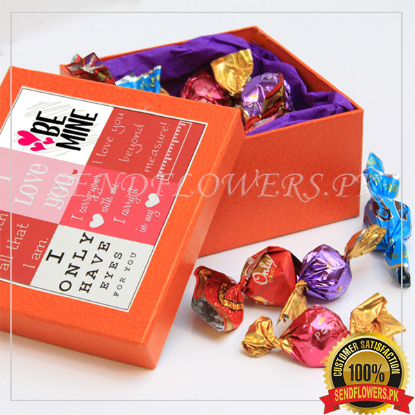 Choco Box of Sweet Love Treats - SendFlowers.pk