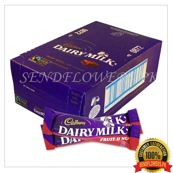 Dairy Milk Flavored Choco Bars - SendFlowers.pk