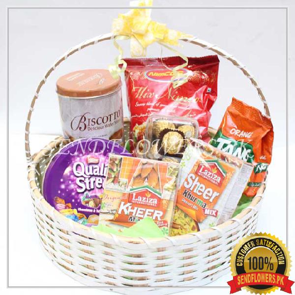 Healthy Treat Basket - Sendflowers.pk