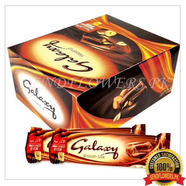 Premium Galaxy chocolate bars - SendFlowers.pk