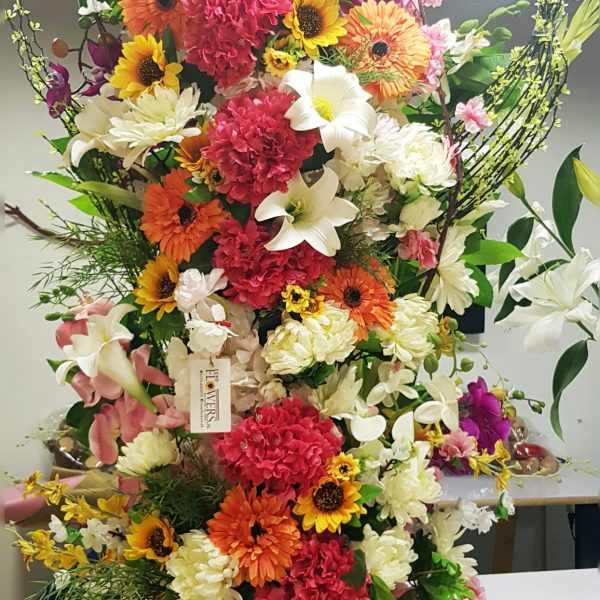 Big Artificial Flowers Arrangements - SendFlowers.pk