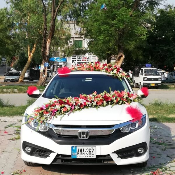 Honda Car Decoration - SendFlowers.pk