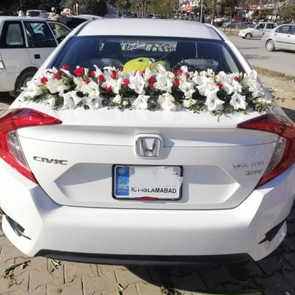 Honda Civic Decoration 2 - SendFlowers.pk
