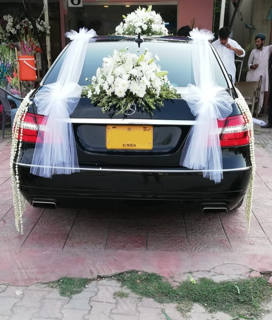 Image result for car decoratin for wedding