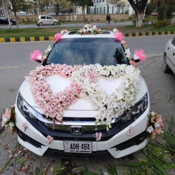 Toyota Car Decoration - SendFlowers.pk