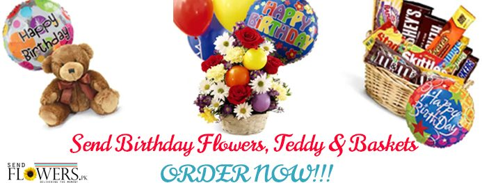 send birthday flowers and gifts to Pakistan from USA_SendFlowers.pk