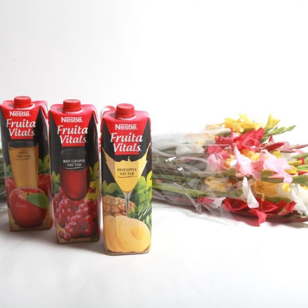 Mix Glads with Juices