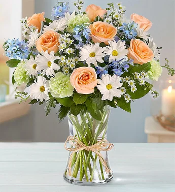 Delivery of Unique Color Flowers on Father's Day