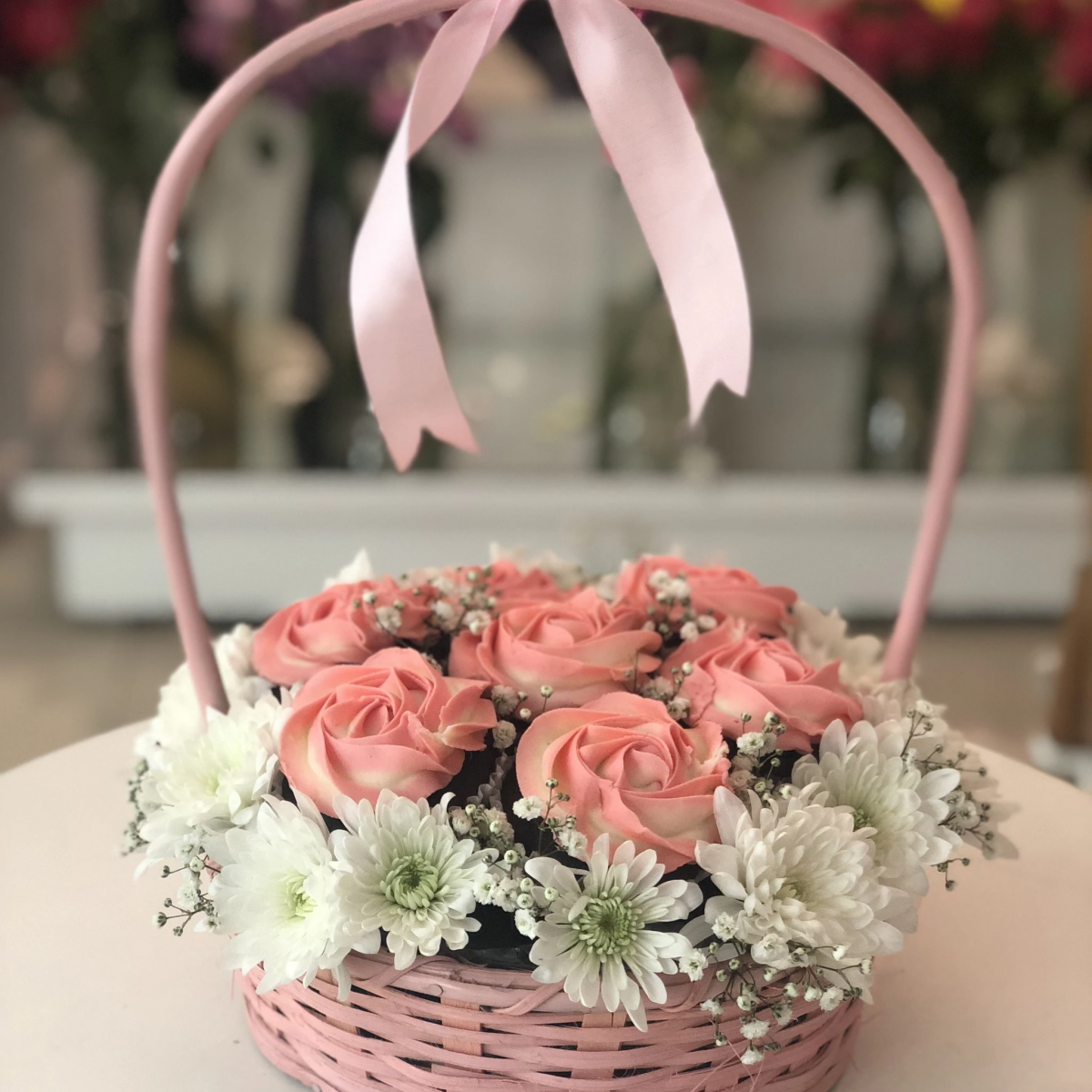 Delivery of A Basket of Love on Father's Day