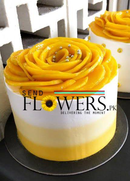 Fresh Mango Cream Cake Pakistan delivery online
