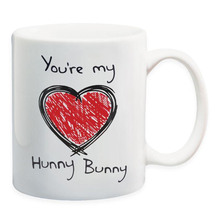 Send My Hunny Bunny Mug on Anniversary