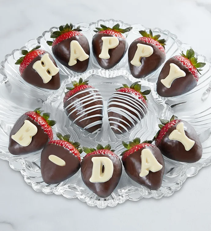 Delivery of Strawberry & Chocolate on Birthday on Father's Days