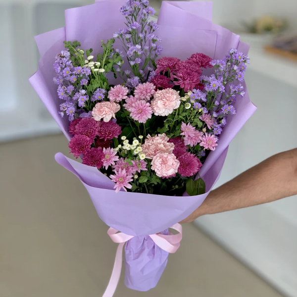 Colorful Flowers Delivery on Father's Day in Islamabad