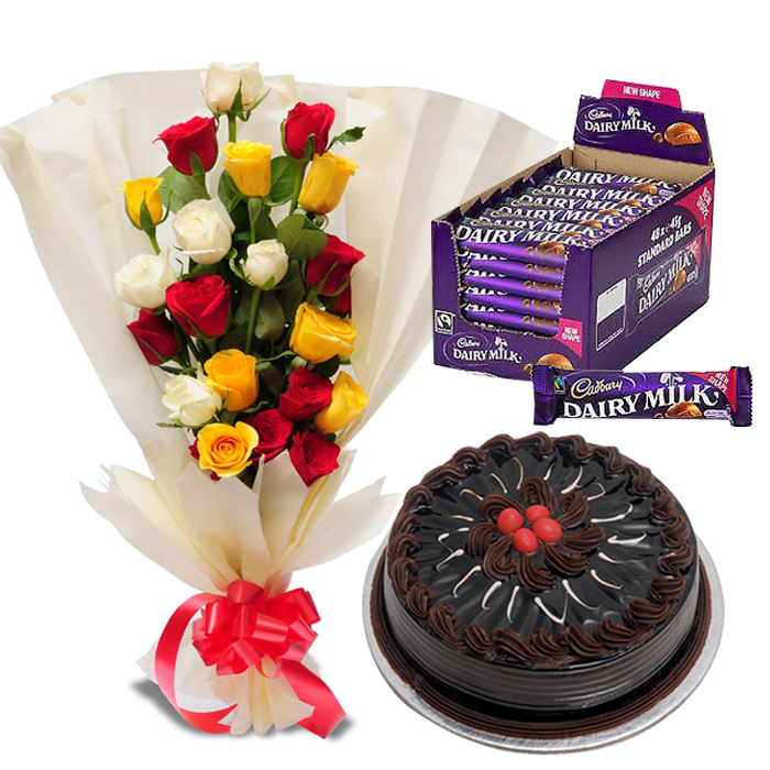 Delivery of I Love Flowers & Chocolates in Pakistan
