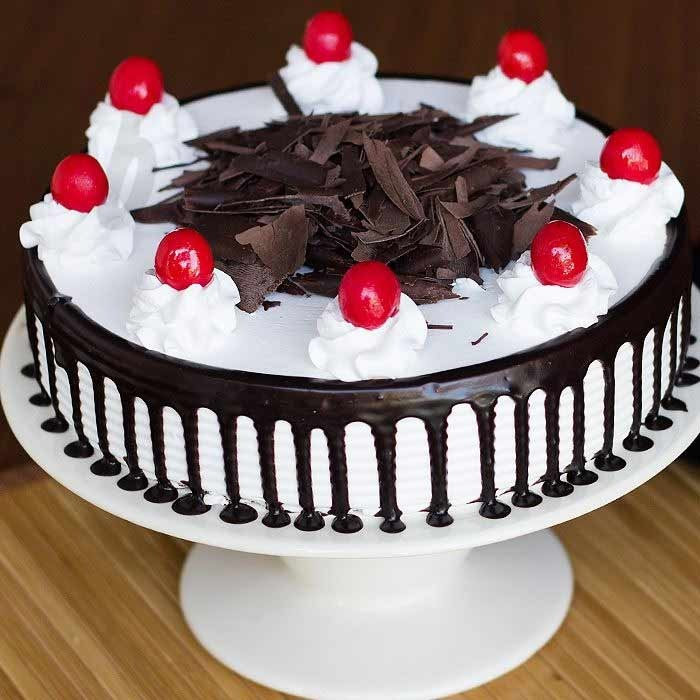 Black Forest Love Cake - Delivery of Cakes in Lahore | SendFlowers.pk