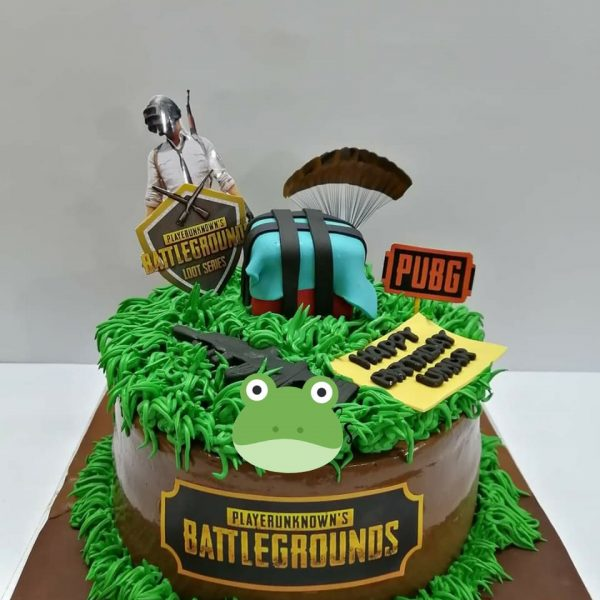 Delivery of PUBG Lover Cake in Pakistan