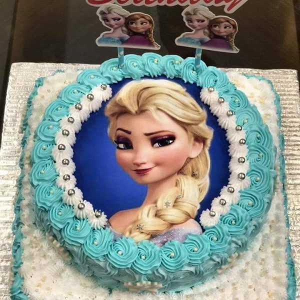 Delivery of Princess Elsa Cake in Pakistan