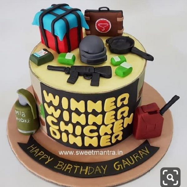 Delivery of Dinner for Winner Cake in Pakistan