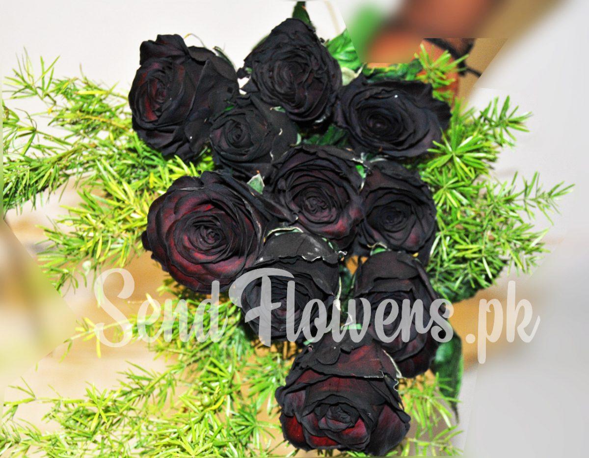 online black rose delivery