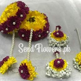 Mehandi Flower Jewellery Pakistan