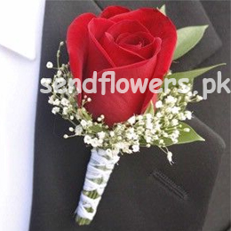 online groom boutonniere delivery in Lahore, Islamabad & Karachi