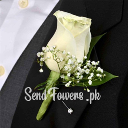 send groom boutonniere in Pakistan