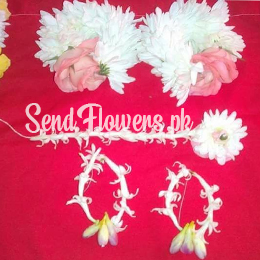 Local Flower Jewellery online delivery Lahore