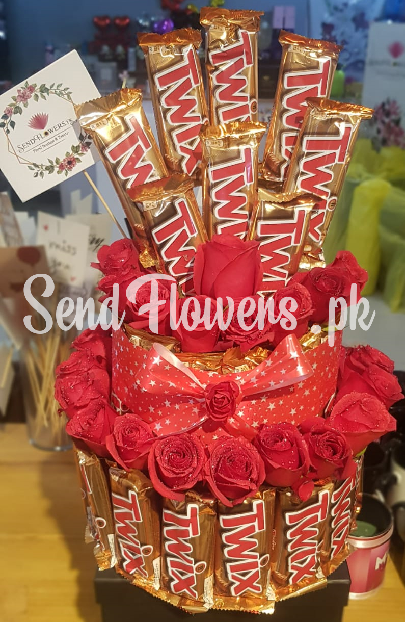 premium flowers & gift delivery services in Lahore