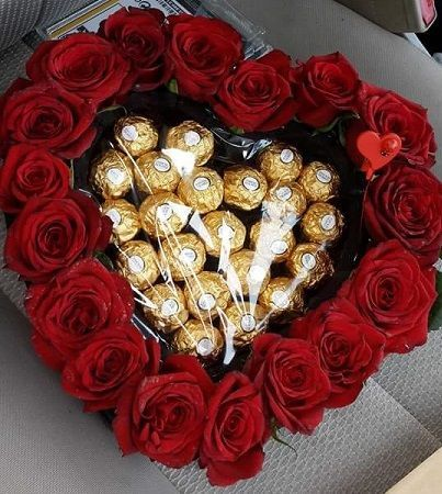 Heart Chocolate Box - Delivery in Pakistan
